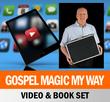 Scott Devers Video & Book Set Gospel Magic x20 Tricks