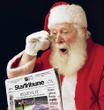 Milk From Newspaper magic Trick Santa Christmas Gospel