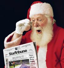 Milk From Newspaper magic Trick Santa Christmas Gospel