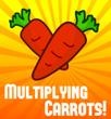 Multiplying Sponge Carrots Magic Trick Jumbo
