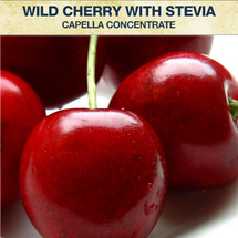 Capella Wild Cherry With Stevia Concentrate