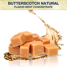 Flavor West Butterscotch Natural Concentrate