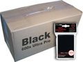Bulk Ultra Pro Black Sleeves 600ct