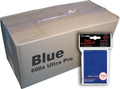 Bulk Ultra Pro Blue Sleeves 600ct