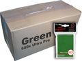 Bulk Ultra Pro Green Sleeves 600ct
