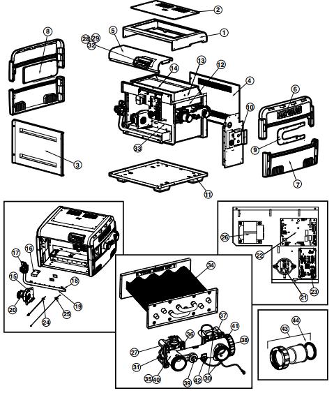 Spa Parts Control Panels