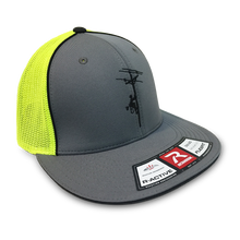 After a very comfortable flat brim lineman hat?  Here it is!!