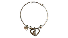 Lineman On Your Heart Charm Bracelet!