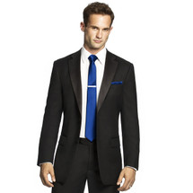 Men's Skinny Tie in Duchess Satin by Dessy