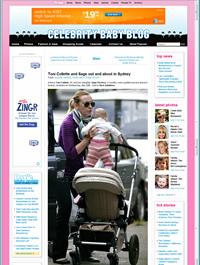 celebrity babies Toni Collette