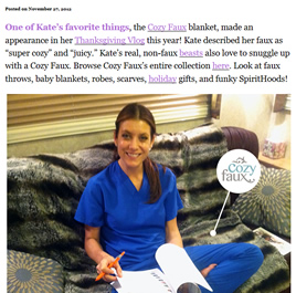 kate walsh blog post