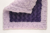 Lavender/Purple Baby Lovey Blanket