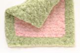 Lovey - Light PInk with Sage Trim