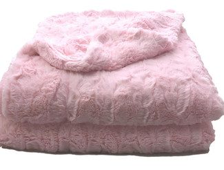 Light Pink Luxe Throw