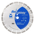 "Blue Lightning Diamond Saw Blades 14"" x .125 x 1"", 20mm DPH - Segmented"