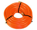 "Water Hose Continental ContiTech  Industrial 3/4"" x 75' Orange Pliovic PVC - USA"