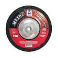 "Mercer 7"" x 1/4"" x 5/8""-11 Grinding Wheel TYPE 27 - Metal (Pack of 10)"
