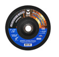 "Mercer 4 1/2"" x 1/4"" x 7/8"" Grinding Wheel TYPE 27 - Stainless Steel (Pack of 25)"