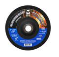 "Mercer 4 1/2"" x 1/4"" x 7/8"" Grinding Wheel TYPE 27 - Stainless Steel (Pack of 25)"