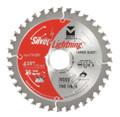 "Silver Lightning Wood Cutting Saw Blades 5 3/8"" x 10mm x 36T - 715383"