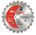 "Silver Lightning Wood Cutting Saw Blades 6 1/2"" x 5/8"" DIA x 24T - 716121"