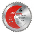 "Silver Lightning Wood Cutting Saw Blades 12"" x 1"", 5/8 x 44T - 711201"