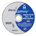"""Mercer Black Lightning 4 1/2"""" x .045 x 7/8"""" - Stainless Steel (Pack of 50)"""