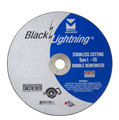 "Mercer Black Lightning 7"" x .045 x 5/8"" - Stainless Steel (Pack of 25)"