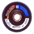 "Mercer Zirconia Flap Disc 5"" x 7/8"" 80grit HD - T29 (Pack of 10)"