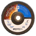 "Mercer Zirconia Flap Disc 7"" x 7/8"" 40grit Standard - T29 (Pack of 10)"