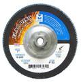 "Mercer Zirconia Flap Disc 7"" x 5/8""-11 80grit Standard - T29 (Pack of 10)"