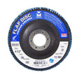 "Mercer Zirconia Flap Disc 4"" x 5/8"" 60grit HD - T27 (Pack of 10)"