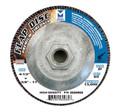 "Mercer Zirconia Flap Disc 4 1/2"" x 5/8""-11 80grit HD - T27 (Pack of 10)"