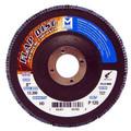 "Mercer Zirconia Flap Disc 5"" x 7/8"" 80grit HD - T27 (Pack of 10)"