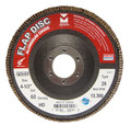 "Mercer Aluminum Oxide Flap Disc 4-1/2"" x 7/8"" 80grit HD - T29 (Pack of 10)"