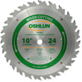 "WOOD RIPPING SAW BLADES 10"" X 5/8"" X 24T"