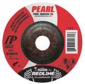 "Pearl REDLINE 5"" x 1/4"" x 7/8"" Depressed Center Grinding Wheel (Pack of 25)"