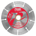 "4-1/2"" x .080 x 7/8"", 5/8"" Pearl P2 PRO-V Segmented Diamond Blade"