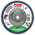 "Pearl EXV 4-1/2"" x 5/8""-11 Zirconia T29 Flap Disc - 60 GRIT (Pack of 10)"