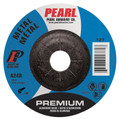 "Pearl Premium 5"" x 1/8"" x 7/8"" Depressed Center Grinding Wheel (Pack of 25)"