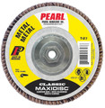 "Pearl Classic 4 1/2"" x 5/8""-11 AL/OX T27 Flap Disc - 60 GRIT (Pack of 10)"