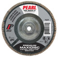 """Pearl Premium 7"""" x 5/8""""-11 Silicon Carbide T27 Flap Disc - 80GRIT (Pack of 10)"""