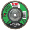 "Pearl Premium 4 1/2"" x 5/8""-11 Zirconia T27 Flap Disc - 80 GRIT (Pack of 10)"