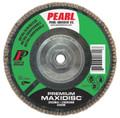 "Pearl Premium 5"" x 5/8""-11 Zirconia T27 Flap Disc - 60 GRIT (Pack of 10)"