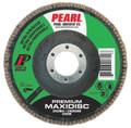 "Pearl Premium 4-1/2"" x 7/8"" Zirconia T29 Flap Disc - 60 GRIT (Pack of 10)"