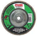 "Pearl StainlessMax 5"" x 5/8""-11 Zirconia T27 Flap Disc - 40 GRIT (Pack of 10)"