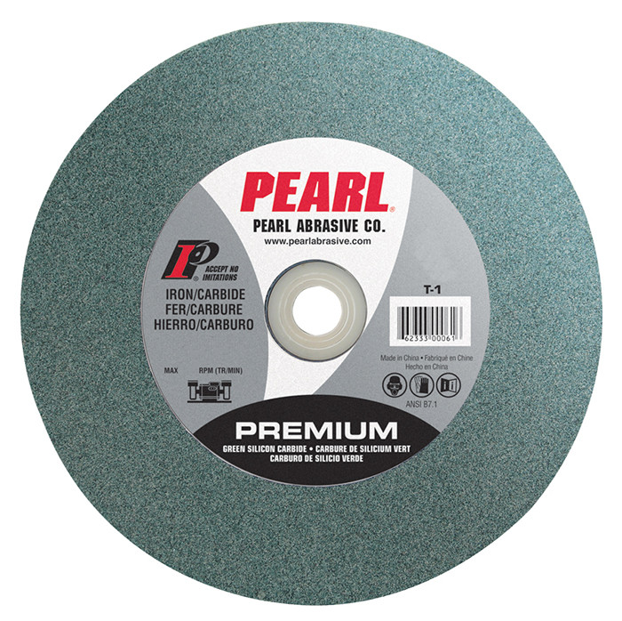 Pearl 6 X 1 2 X 1 C120 Grit Bench Grinding Wheel