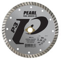 "Pearl 4"" x .070 x 20mm, 5/8"" P3  Flat Core Turbo Blade"