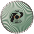 "Pearl 7"" x .080 x 7/8 DIA - 5/8"" P4 Waved Core Turbo Diamond Blade"