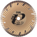 "Pearl 7"" x .080 x 7/8 DIA - 5/8"" P5 Waved Core Turbo Diamond Blade"